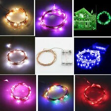 2/3/4m 20/30/40 LED Lamp Xmas Wedding Party Decor Outdoor Fairy String Light