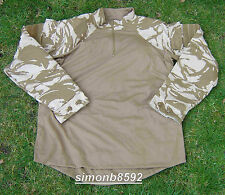 NEW UK BRITISH ARMY SURPLUS ISSUE DESERT DPM UBACS COMBAT SHIRT, S, M,L,XL & XXL