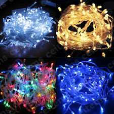 10/20/30/50/100M 100/120/180/240/480 LED Wedding Christmas Fairy String Light