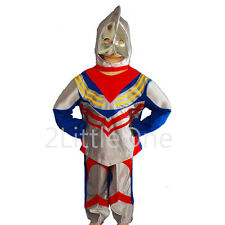 Ultraman Tiga Hero Kid Boy Fancy Party Costume Outfit Halloween Party Sz 2-7 019