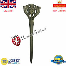 "Thistle Kilt Pin Antique Finish 4""/Antique Kilt Pin/Scottish Thistle Hilt Pins"