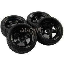 4pcs 1/10 RC Tires Tyre and Wheels 27 mm RC Wheels Tyres 1 10 RC Foam Wheels