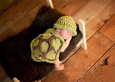 Newly Arrival Newborn Baby Crochet Knit Costume Photo Photography Prop Outfits
