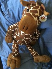 "Large Giraffe Soft Toy Tags Attached By Plush pals Soft Toys 29""X 12"" Approx"