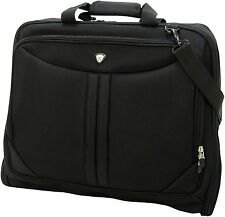 Olympia Vector Deluxe Garment Bag Carrier Suit Black or Gray Folding  44 x 22""