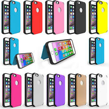 For iPhone 6S / 6S Plus 1PC Stylish Silicone Combo Cell Phone Holder Case Cover