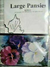 Calla Lilies, Orchids, Iris, Hibiscus, OR Pansies Painting Packet A  Kowalsk