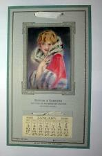 """VINTAGE 1926 CALENDER """"BOTKIN & SANDERS"""" OUTFITTERS FOR MEN,WOMAN & CHILDREN"""