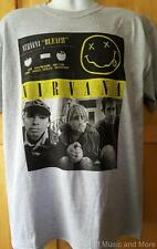 "NIRVANA T-Shirt ""Bleach Cassette""   S, M, L, XL,XXL  Official/Licensed  NEW"