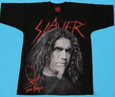 Slayer - Tom Araya Special Collection T-shirt NEW