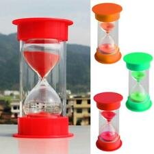 Colorful Hourglass Sandglass Sand Clock Timers Timing Sports Cooking Game 3Color