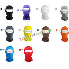 Full Face Mask Ultra-thin Motorcycle Cycling Ski Neck Protecting Outdoor Mask US