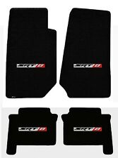 New! 1993-2010 Jeep Grand Cherokee SRT8 Emblem Velourtex Floor Mats Black Set 4