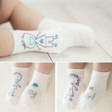 1Pair Cute Baby Newborn Infant Toddler Kids Girl Boy Soft Cotton Socks 0-3 Years