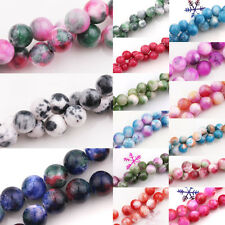 15/20/25Pcs Natural Persian Jade Stone Gemstone Round Spacer Loose Beads DIY 6/8