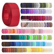 "3/4"" 20mm Grosgrain Ribbon Craft Bows 10Yard Wedding Supplies Festival RN0028"