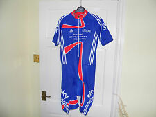 Team Issue GB SKY Olympic Rider Issue cycling SS skinsuit padded bike shorts