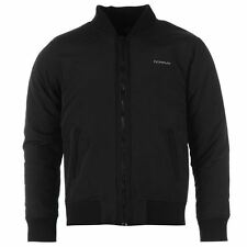 Donnay Gents Mens Bomber Jacket Top Coat Outerwear Harrington Zip Ribbed Cuffs