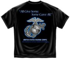 United States Marines Corps All Give Some, Some Gave All - Fallen Soldiers USMC