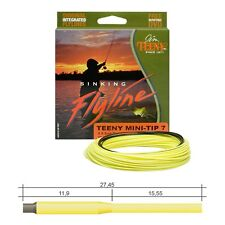 Jim Teeny Weight Forward Mini Tip Fly Line, 3-9 Rod Size, Choose Weight/Sink