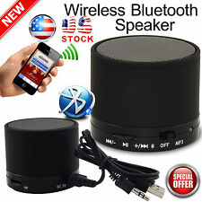 Mini Bluetooth Wireless Portable Speaker For MP3 Mobile Phones Tablet – Black US