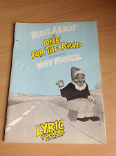 Russ Abbot in One for the Road Hand signed by Russ Abbot & Elizabeth Bennett