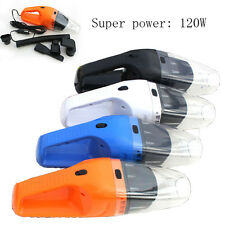 12V 120W Suction Mini Portable Vehicle Car Handheld Vacuum Dirt Cleaner Wet