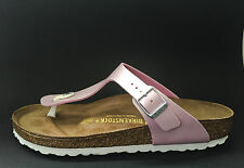 Birkenstock Gizeh Sandals - Pearly Rose - Made In Germany
