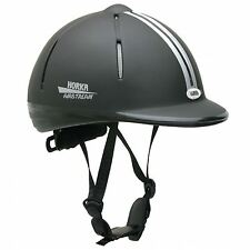Horka Equestrian Airstream Techno Sport Comfort Fit Rider Event Safety Helmet