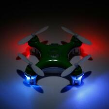 Cheerson CX-10 Mini 2.4G 4CH 6 Axis LED RC Quadcopter Helicopters Airplane