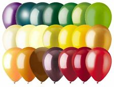 """24- 12"""" Solid Latex Balloons Autumn Inspired Color Palette Wedding Birthday Fall"""