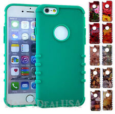 Crystal KoolKase Rocker Slim Soft & Hard Cover Case For Apple iPhone TEAL GREEN