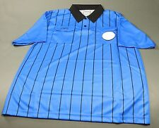 Olympus Soccer Referee Short Sleeve Shirt Royal/Black (NEW) Retails: $39.99