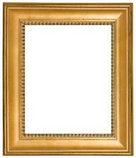 "NEW CLASSIC PHOTO PICTURE ART PAINTING FRAME SOLID WOOD FRAME GOLD LEAF 2"" WIDE"