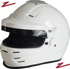 ZAMP - RZ-35 Pro Rally SA2015 Auto Racing Helmet - Open & Full Face HANS Snell