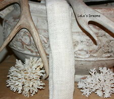 DESIGNER Chandelier Chain Cord Cover~VELCRO~Off-White Burlap (3ft) (6ft) (9ft)