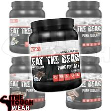 ETB  Eat The Bear - Grizzly Pure Isolate Whey Protein 2Lbs - 5 Flavors to choose