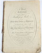 c1795:NIEL GOW'S STRATHSPEYS/REELS:SCOTTISH FIDDLE MUSIC/VIOLIN/PERTHSHIRE*1st*