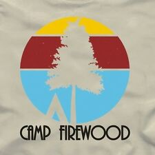 CAMP FIREWOOD retro T-Shirt - wet hot american summer first day of TV show movie