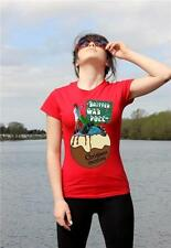 National Lampoons CHRISTMAS VACATION - Chevy Chase cousin Eddie ladies t-shirt.