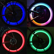 Cool Safe Bright Bike Bicycle Cycling Car Wheel Tire Tyre Led Spoke Light Lamp