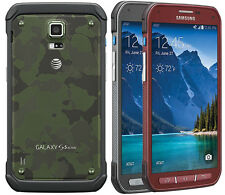 Samsung Galaxy S5 Active SM-G870A UNLOCKED AT&T 4G LTE Android Smartphone (B)