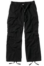 2986 Rothco Black Vintage Paratrooper Fatigue Pants