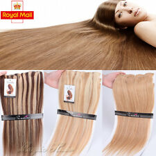100% Luxury Remy Human Hair 130g+ More Thick Clip in Extensions UK SELLER U219