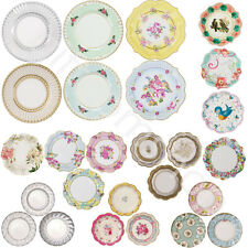 Shabby Chic Luxury Paper Plates Vintage Style Party Plates Tea Party Accessories