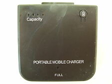 PORTABLE EXTERNAL IPOD IPHONE ITOUCH BATTERY MOBILE CHARGER 1900MAH BLK or WHITE