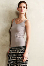 NEW Anthropologie Eloise Reversible Seamless Tank Top in Grey Sz S,M,L $30.00