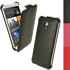 PU Leather Slim Flip Skin Case for HTC One MINI M4 Cover Holder Holster Pouch