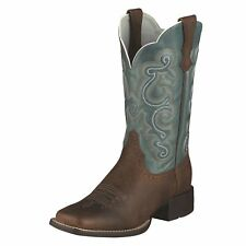 Ariat Women's Brown Oiled Rowdy Quickdraw Western Cowboy Boot