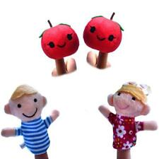 Set of Finger Puppets Kids Story Telling Educational Toy Child Party Bag Filler
